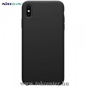 APPLE IPhone XS Max 6.5 NILLKIN FLEX PURE telefonvédő gumi / szilikon (gumírozott) FEKETE