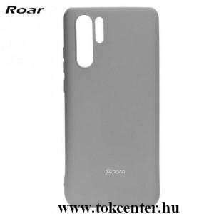 HUAWEI P30 Pro ROAR ALL DAY telefonvédő gumi / szilikon (matt) SZÜRKE