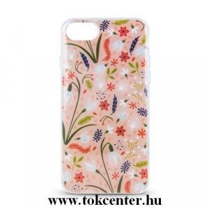 Huawei Mate 20 Lite tavaszi virágmintás hátlap tok