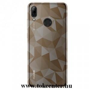 Samsung Galaxy A50 (SM-505F) Telefonvédő gumi / szilikon (3D, gyémánt minta) SZÜRKE