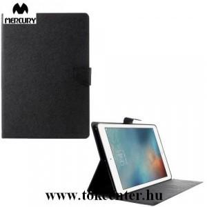 Apple IPAD mini 5 (2019)/ Apple IPAD mini /mini 2 /mini 3 /mini 4 MERCURY Fancy Diary tok álló, bőr (FLIP, oldalra nyíló, bankkártya tartó, asztali tartó funkció) FEKETE