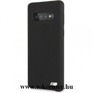 Samsung Galaxy S10 (SM-G973) BMW telefonvédő gumi / szilikon (ultravékony) FEKETE