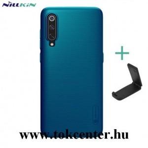 Honor 20 Pro NILLKIN SUPER FROSTED műanyag telefonvédő (gumírozott, érdes felület + asztali tartó) KÉK