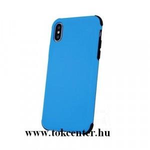 Apple iPhone X (5.8) / Apple iPhone XS (5.8) Defender Rubber ütésálló hátlap tok KÉK
