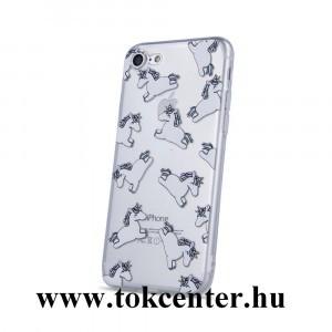 Samsung A405 Galaxy A40 Unikornis mintás szilikon tok