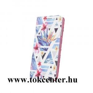 Samsung A405 Galaxy A40 Tok álló, FLIP, szilikon keretes oldalra nyíló telefonvédő, asztali tartó funkció ''Sunny June2''