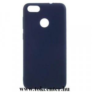 Apple iPhone 11 Szilikon telefonvédő (matt) SÖTÉTKÉK