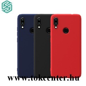 Samsung Galaxy Note 10 (SM-N970F) NILLKIN RUBBER WRAPPED szilikon telefonvédő (gumírozott) SÖTÉTKÉK