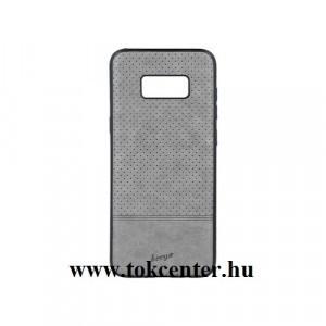 Beeyo Premium Apple iPhone 5/ Apple iPhone 5S / Apple iPhone SE szürke műbőr bevonatos szilikon tok