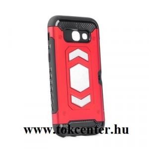 Defender Magnetic Samsung G975 Galaxy S10 Plus piros ütésálló, mágneses hátlap tok