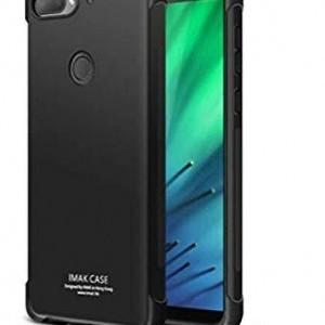 Samsung Galaxy Note 10 Plus (SM-N975F) IMAK szilikon telefonvédő (közepesen ütésálló, légpárnás sarok, matt) FEKETE