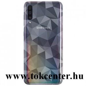 Samsung Galaxy A30s (SM-A307F) /Samsung Galaxy A50 (SM-A505F) Szilikon telefonvédő (3D, gyémánt minta) ÁTLÁTSZÓ