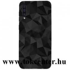 Samsung Galaxy A30s (SM-A307F) /Samsung Galaxy A50 (SM-A505F) Szilikon telefonvédő (3D, gyémánt minta) FEKETE