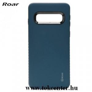 Samsung Galaxy Note 10 (SM-N970F) ROAR RICO ARMOR szilikon telefonvédő (közepesen ütésálló, műanyag hátlap, matt) SÖTÉTKÉK