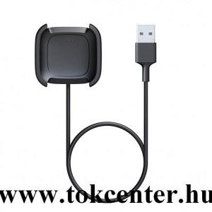 Asztali töltő + 1m kábel FEKETE Fitbit Versa 2