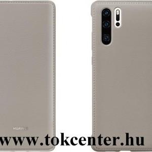 Huawei P30 Pro Tok álló, bőr hatású (FLIP, oldalra nyíló) BARNA (51992870)