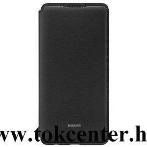Huawei P30 Pro Tok álló, bőr hatású (FLIP, oldalra nyíló) FEKETE (51992866)