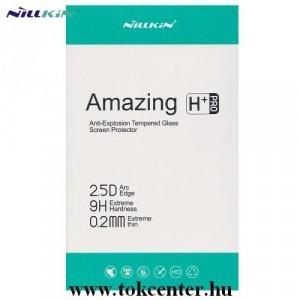 Samsung Galaxy A51 (SM-A515F) NILLKIN H+ PRO képernyővédő üveg (2.5D lekerekített szél, karcálló, UV szűrés, ultravékony, 0.2mm, 9H) ÁTLÁTSZÓ