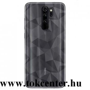 Xiaomi Redmi Note 8 Pro Szilikon telefonvédő (3D, gyémánt minta) ÁTLÁTSZÓ