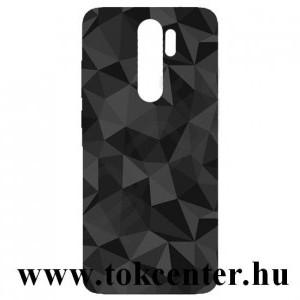 Xiaomi Redmi Note 8 Pro Szilikon telefonvédő (3D, gyémánt minta) FEKETE