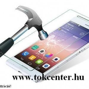 Samsung Galaxy A01 (SM-A015F) Képernyővédő fólia (karcálló, NEM íves) CLEAR átlátszó