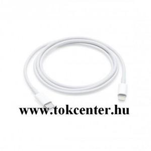 Adatátvitel adatkábel (Type-C / lightning 8 pin, 100 cm, gyorstöltés támogatás) FEHÉR (MQGJ2ZM/A)