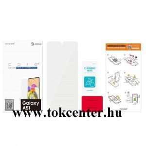 Samsung Galaxy A51 (SM-A515F) Képernyővédő üveg (karcálló, 0.33mm, 9H, NEM íves) ÁTLÁTSZÓ (GP-TTA515KDAT)