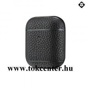 Valódi bőr tok FEKETE Apple AirPods / AirPods 2