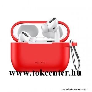 USAMS szilikon tok (karabíner) PIROS Apple AirPods Pro