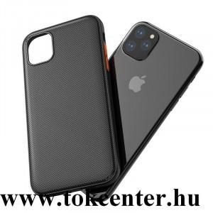 Apple iPhone 11 Pro HOCO STAR LORD szilikon telefonvédő (ultravékony, csíkos minta) FEKETE
