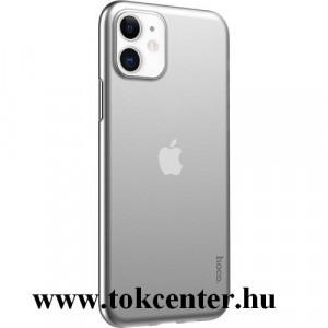 Apple iPhone 11 HOCO THIN műanyag telefonvédő (0.45mm, ultravékony) ÁTLÁTSZÓ