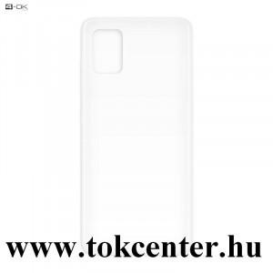 Samsung Galaxy A51 (SM-A515F) 4-OK szilikon telefonvédő (ultravékony) ÁTLÁTSZÓ