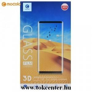 Samsung Galaxy S20 (SM-G980F) /Galaxy S20 5G (SM-G981U) MOCOLO képernyővédő üveg (3D full cover, full glue, íves, karcálló, 9H) FEKETE