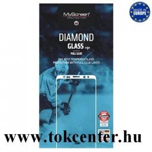 Lenovo K10 Note (L38111) MYSCREEN DIAMOND GLASS EDGE képernyővédő üveg (2.5D, full glue, teljes felületén tapad, karcálló, 0.33 mm, 9H) FEKETE