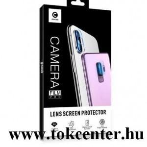 Huawei P40 Lite MOCOLO kameravédő üveg (2.5D lekerekített szél, karcálló, 9H) ÁTLÁTSZÓ