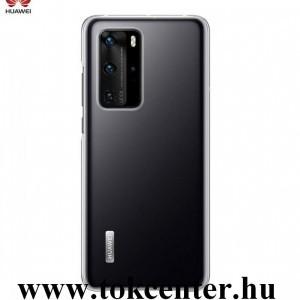Huawei P40 Pro 5G Szilikon telefonvédő ÁTLÁTSZÓ (51993809)