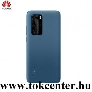 Huawei P40 Pro 5G Szilikon telefonvédő KÉK (51993799)