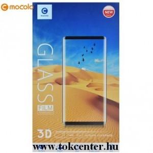 Xiaomi Mi Note 10 / Xiaomi Mi Note 10 Pro MOCOLO képernyővédő üveg (3D full cover, full glue, íves, karcálló, 9H) FEKETE