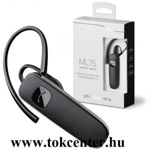 BLUETOOTH fülhallgató PLANTRONICS ML15 MONO (USB töltő, multipoint) FEKETE