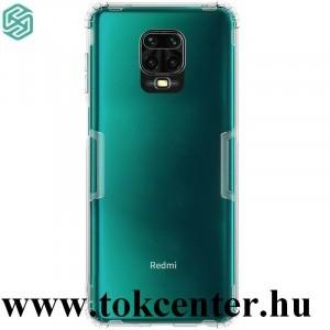 Xiaomi Redmi Note 9 Pro / Xiaomi Redmi Note 9S NILLKIN NATURE szilikon telefonvédő (közepesen ütésálló, légpárnás sarok, 0.6 mm, ultravékony) ÁTLÁTSZÓ