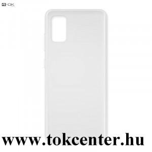 Samsung Galaxy A41 (SM-A415F) 4-OK szilikon telefonvédő (ultravékony) ÁTLÁTSZÓ