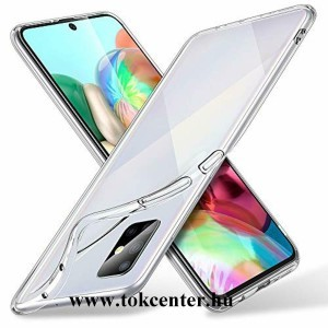 Samsung Galaxy S10 Lite (SM-G770F) Szilikon telefonvédő (ultravékony) ÁTLÁTSZÓ