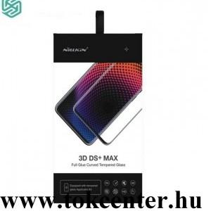 OnePlus 8 5G NILLKIN DS+ MAX képernyővédő üveg (3D, full glue,teljes felületén tapad, ultravékony, ütésálló, 0.23mm, 9H) FEKETE