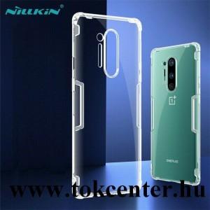 OnePlus 8 Pro 5G NILLKIN NATURE szilikon telefonvédő (közepesen ütésálló, légpárnás sarok, 0.6 mm, ultravékony) ÁTLÁTSZÓ