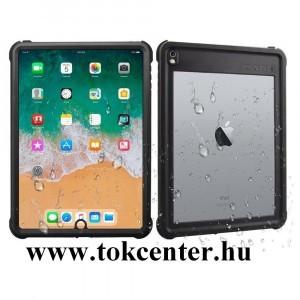 Apple IPAD Air 2 / Apple IPAD Pro 9.7 Vízhatlan / vízálló tok, AQUA (3 méterig, IP68, közepesen ütésálló, légpárnás sarok) FEKETE