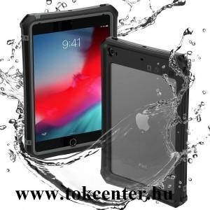 Apple IPAD mini / Apple IPAD mini 2 / Apple IPAD mini 3 Vízhatlan / vízálló tok, AQUA (3 méterig, IP68, közepesen ütésálló, légpárnás sarok) FEKETE