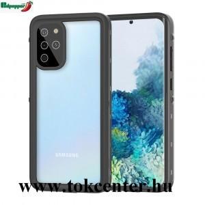Samsung Galaxy S20 Plus (SM-G985F) / Galaxy S20 Plus 5G (SM-G986) REDPEPPER vízhatlan / vízálló tok, AQUA (2 méterig, IP68, közepesen ütésálló, légpárnás sarok + kézpánt) FEKETE