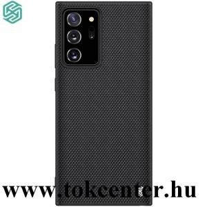 Samsung Galaxy Note 20 Ultra (SM-N985F) / Note 20 Ultra 5G (SM-N986F) NILLKIN TEXTURED műanyag telefonvédő (közepesen ütésálló, szilikon keret, 3D minta) FEKETE