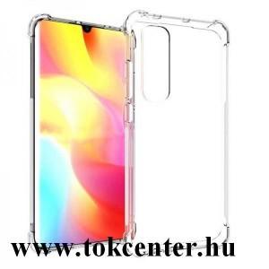Xiaomi Mi Note 10 Lite Szilikon telefonvédő (közepesen ütésálló, légpárnás sarok) ÁTLÁTSZÓ