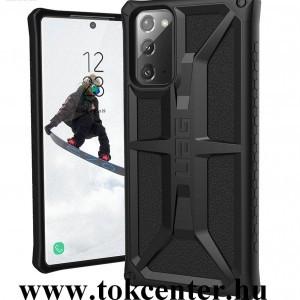 Samsung Galaxy Note 20 (SM-N980F) / Note 20 5G (SM-N981F) UAG MONARCH műanyag telefonvédő (közepesen ütésálló, szilikon belső) FEKETE (212191114040)
